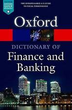 A Dictionary of Finance and Banking 5/e (Oxford Quick Reference), Market House B