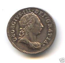 ROYAUME-UNI GEORGE III (1760-1820) 3 PENCE ARGENT 1762
