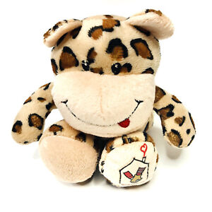 """Ronald McDonald House Charities Collectable 8"""" Leopard Plush Soft Toy Teddy"""