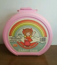 Little Miss Rainbow Carry Dolls and Accessories/Overnight Case '80s Gay Toys