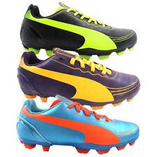 Chaussures jaunes PUMA pour garçon de 2 à 16 ans