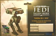 Star Wars Fallen Order Tundra BD-1 Skin  For Xbox 1, PlayStation 4, Or PC