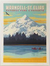 Wrangell-St. Elias National Park Postcard Unposted Alaska