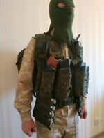 Original Russian tactical vest 6SH117 (senior shooter) of the Russian Army