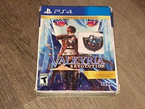 Valkyria Revolution Vanargand Edition PlayStation 4 PS4 Complete CIB Mint Disc
