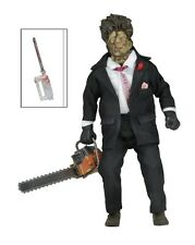 "Texas Chainsaw Massacre 2 1986 Leatherface 8"" Retro Clothed Figure NECA"