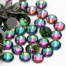 Mixed Size Colour Shifting Chameleon Nail Art Rhinestones Glitter Crystal Gems