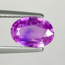 1.14 ct  HOT RARE SPARKLING-  PURPLE PINK  _  NATURAL SAPPHIRE - Oval  # 3534