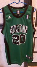 Adidas Boston Celtics Ray Allen Jersey 20 Alternate Green Black Mens Large  Sewn