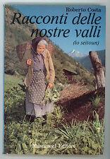 COSTA ROBERTO RACCONTI DELLE NOSTRE VALLI LO SEITOUN MUSUMECI 1980
