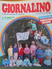 Giornalino 46 1986 con canzoni 29° Zecchino D'Oro - I PUFFI + allegato [C20]
