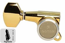 GOTOH SG381-07-MGT Locking Tuners w/ Small Knobs - Gold - 7R