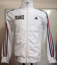 France Football White Track Top by adidas Adults Size Small With Tags