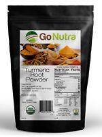 ORGANIC TURMERIC Root Powder 4oz 8oz 1lb 2lb 5lb Pure (Curcuma Longa) TUMERIC