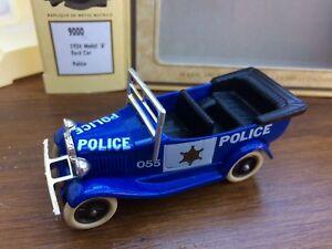 LLEDO DG9000a DG9000c POLICE 1930 Model A Ford Car light & dark blue
