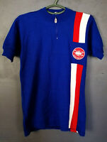 RARE VINTAGE OLD MEN'S SHIRT CASTELLI ITALY CYCLING BICYCLE BIKE JERSEY SIZE 5