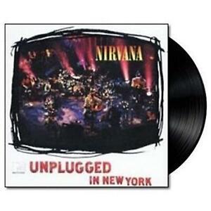 NIRVANA MTV Unplugged Vinyl Lp Record NEW Sealed 180gm