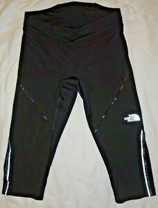 "The North Face FLIGHT - SERIES / FLASHDRY Women's Legings  3/4 Black SIZE "" XS """