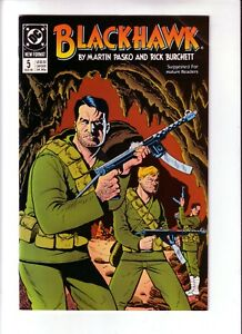 BLACKHAWK #5 (VF-NM) 1989