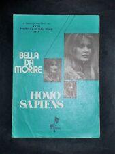 """Musica Spartiti - """"Bella da morire"""" e """"Incredibile voglia di te"""" - 1977 c.a"""
