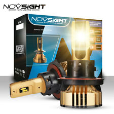 2x NOVSIGHT H13 72W 12000LM LED Headlight Bulbs Conversion Kit Light Hi/Lo 3000K