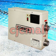 15KW Thermostat Swimming Pool & Home Bath SPA Hot Tub Electric Water Heater 220V