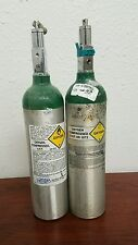 Medical Oxygen Tank Compressed UN 1072  - Empty Cylinder - 2 Pack