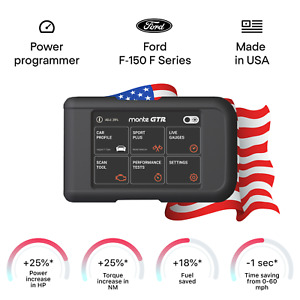 Ford F-150 F Series smart tuning chip power programmer performance tuner OBD2