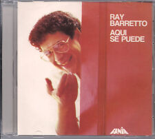 FANIA Salsa CD RARE First Pressing RAY BARRETO Aqui se puede NO ME PAREN LA SALS