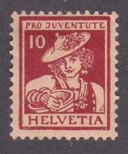 Switzerland 1916 # B6 - Girl from Vaud - Pro Juventute MH semi-postal