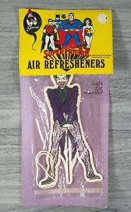 RARE SUPER FRIENDS The JOKER AIR FRESHENER MIP DC Genie 1973 Early Super Friends
