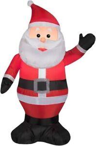 3.5 ft. Santa Waving Left Hand Christmas Inflatable