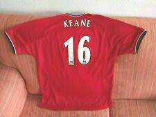 Camiseta MANCHESTER UNITED ROY KEANE Temporada 2000-01 shirt trikot futbol MUFC