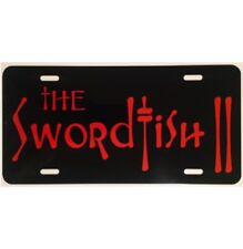 Cowboy Bebop License Plate The Swordfish II Car Tag