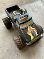 Vintage NYLINT Monster Truck FORD Spikers Eagle Friction Toy Noise Rare
