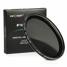67mm Slim Fader Variable ND Filter Adjustable ND2 to ND400 Neutral Density