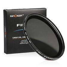 67mm Slim Fader Variable ND Filter Adjustable ND2 4 8 to ND400 Neutral Density