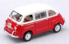 Fiat 600 Multipla Red / White 1:43 Model 770052 NOREV