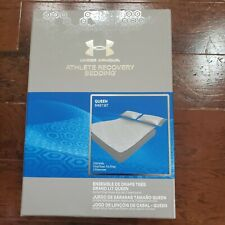 Under Armour Athlete Recovery Bedding Queen Sheet Set- White- 1325129 094 $300