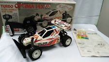 Vintage Kyosho Buggy Turbo Optima 14X RC Radio Remote Controlled Tamiya Toy 1:14