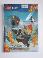 Lego®City Rätselspass Nr.1 mit Minifigur Feuerwehrmann  ,OVP