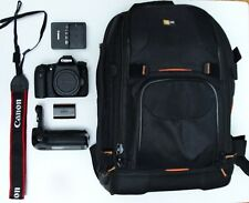 Canon EOS 70D 20.2MP Digital SLR Camera - Black (Body Only) Bundle W/Pro Bag