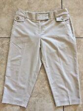 Cato Women's Beige Capri Pants Size 8