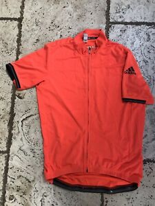 Adidas Climachill Cycling Jersey | Orange | Size L | Excellent Condition