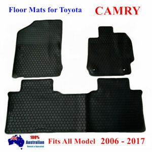 All Weather Rubber FLOOR MATS FOR TOYOTA Camry 2007 - 2017 Altise RZ Hybrid