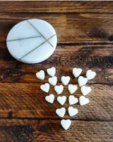 Highly Scented Wax Melts - 30 HEARTS - Natural and Designer scents