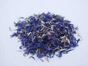 Premium Dried Cornflower  Petals - Centaurea cyanus - Blue , White ,PINK, PURPLE