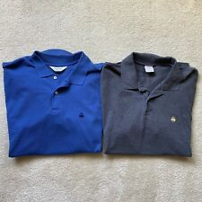 Lot of 2 Brooks Brothers Men's Performance Polo 100% Cotton Size XL