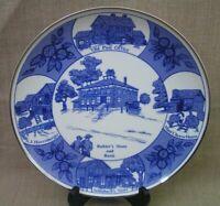 "1827-1977 Walnut Creek Ohio Sesquicentennial Viletta 10"" Commemorative Plate"