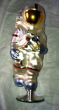 astronaut first step pedestal polonaise  Christmas Ornament HTF
